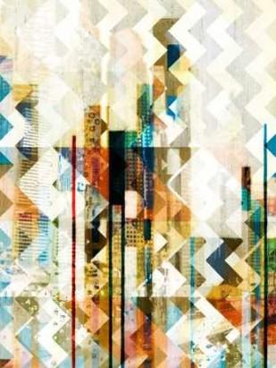 Urban Chevron II Digital Print by Vision Studio,Abstract