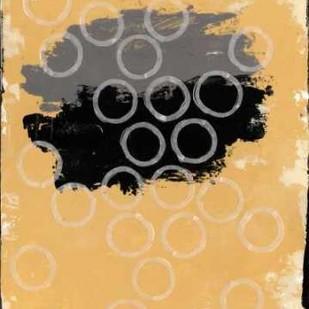Disco Lemon Juice I Digital Print by Avondet, Natalie,Abstract