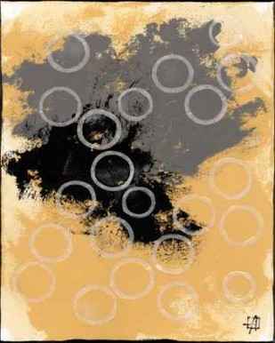 Disco Lemon Juice II Digital Print by Avondet, Natalie,Abstract