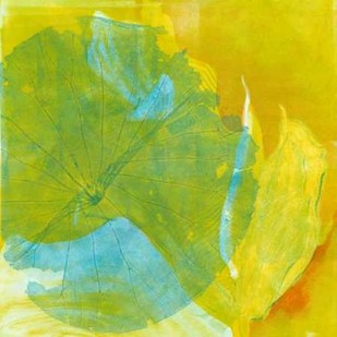 Lotus Monotype I Digital Print by Roth, Carolyn,Abstract
