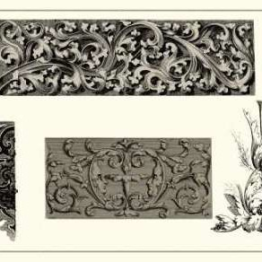 Baroque Details V Digital Print by Vision Studio,Decorative