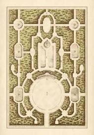 Garden Maze I Digital Print by Blondel,Decorative