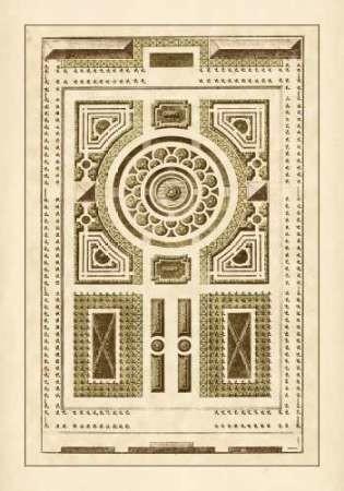 Garden Maze V Digital Print by Blondel,Decorative