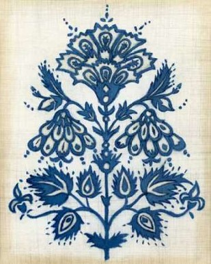 Eastern Indigo I Digital Print by Meagher, Megan,Decorative