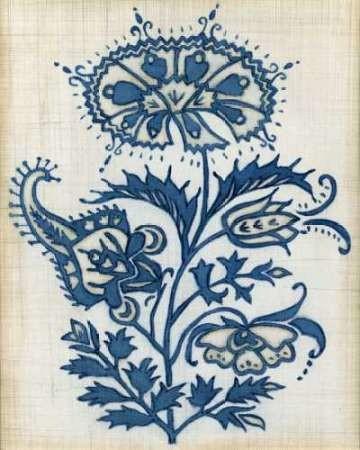 Eastern Indigo II Digital Print by Meagher, Megan,Decorative