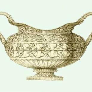 Celadon Porcelain I Digital Print by Vision Studio,Decorative
