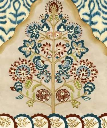 Tapestry Tree I Digital Print by Zarris, Chariklia,Decorative