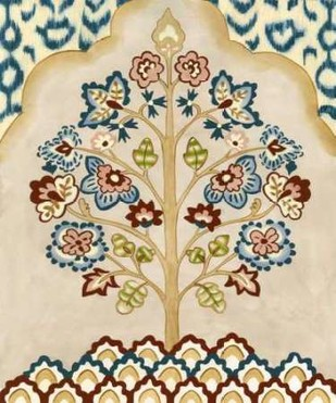 Tapestry Tree II Digital Print by Zarris, Chariklia,Art Deco