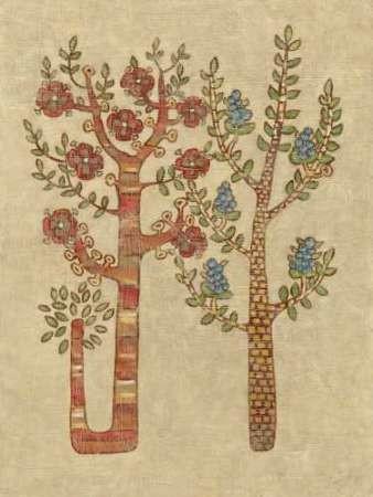 Linen Trees Ii By Zarris, Chariklia