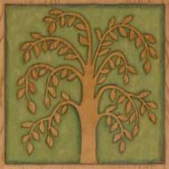 Arbor Woodcut II Digital Print by Meagher, Megan,Decorative, Folk