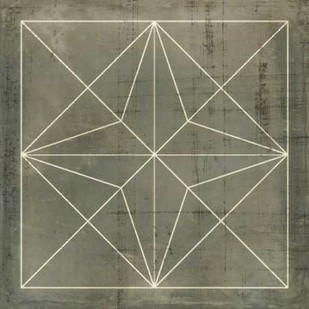Geometric Blueprint I Digital Print by Vision Studio,Geometrical