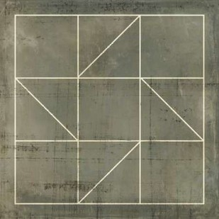 Geometric Blueprint IV Digital Print by Vision Studio,Geometrical