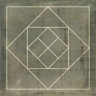 Geometric Blueprint V Digital Print by Vision Studio,Geometrical
