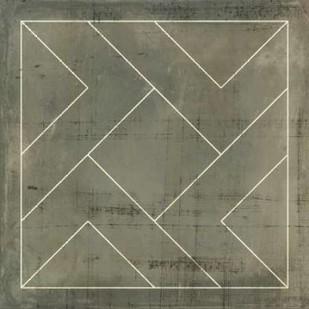 Geometric Blueprint VI Digital Print by Vision Studio,Geometrical