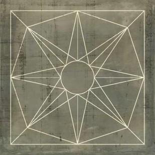 Geometric Blueprint VII Digital Print by Vision Studio,Geometrical
