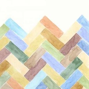 Geometric III Digital Print by Zarris, Chariklia,Abstract