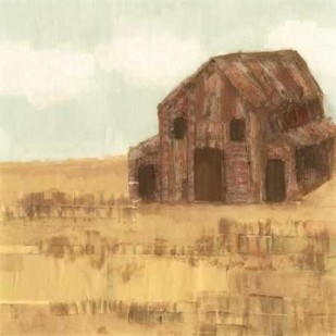 Maupin Farm II Digital Print by Fagalde, Jarman,Impressionism