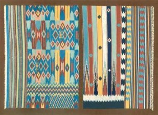 Indian Carpet Design Digital Print by J.B. Waring,Decorative