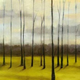 Sunlit Treeline I Digital Print by Goldberger, Jennifer,Impressionism