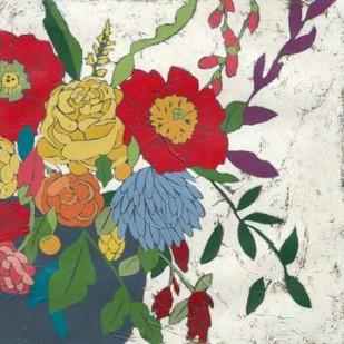 Brilliant Blossoms II Digital Print by Zarris, Chariklia,Decorative