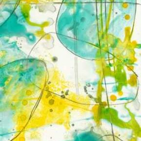 Splish Splash II Digital Print by Goldberger, Jennifer,Abstract