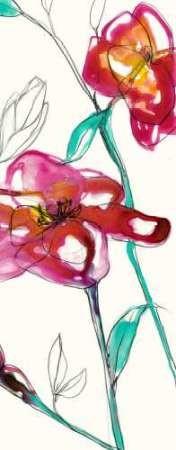 Inked Floral II Digital Print by Goldberger, Jennifer,Decorative