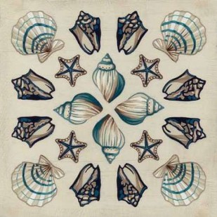 Coastal Kaleidoscope I Digital Print by Vess, June Erica,Decorative