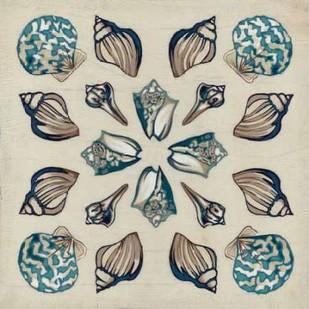 Coastal Kaleidoscope IV Digital Print by Vess, June Erica,Decorative