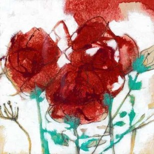 Flower Expression I Digital Print by Goldberger, Jennifer,Impressionism