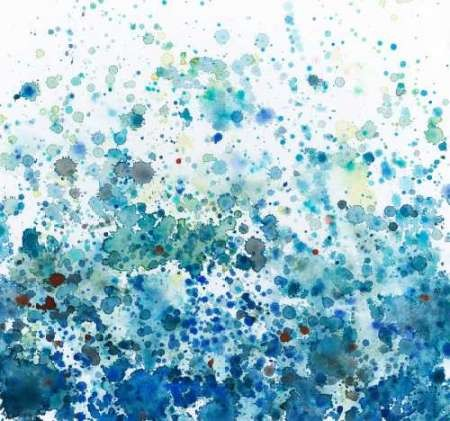 Speckled Sea I Digital Print by Meagher, Megan,Abstract