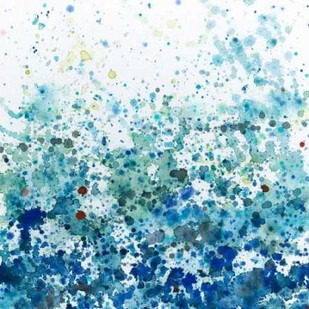 Speckled Sea II Digital Print by Meagher, Megan,Abstract