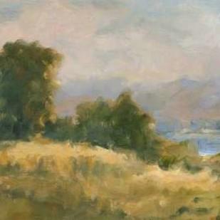 Impasto Landscape V Digital Print by Harper, Ethan,Impressionism