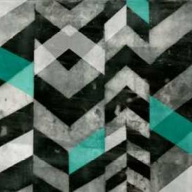 Chevron Exclusion II Digital Print by Goldberger, Jennifer,Abstract