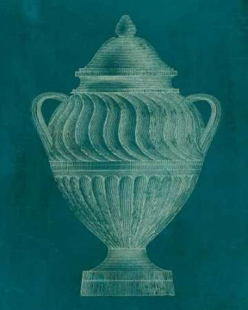 Modern Classic Urn II Digital Print by Vision Studio,Decorative