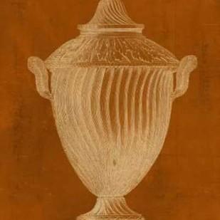 Modern Classic Urn VI Digital Print by Vision Studio,Decorative