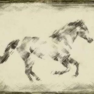 Equine Study I Digital Print by Harper, Ethan,Impressionism