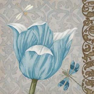 Garden Romance IV Digital Print by Vess, June Erica,Decorative