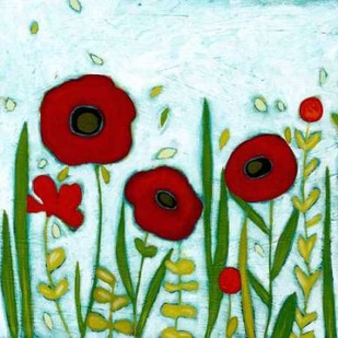 Precious Poppies I Digital Print by Vess, June Erica,Impressionism