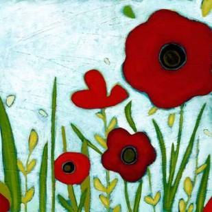 Precious Poppies IV Digital Print by Vess, June Erica,Impressionism
