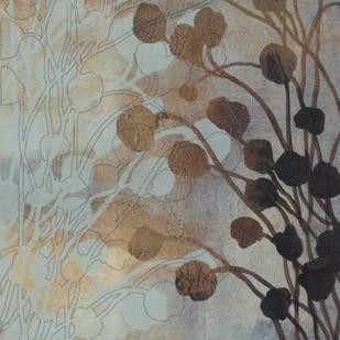 Spa Blue And Gold II Digital Print by O'Toole, Tim,Decorative