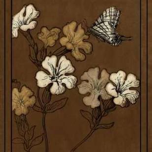 Gilded Blossom III Digital Print by Vision Studio,Decorative