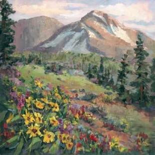 Western Vistas III Digital Print by Oleson, Nanette,Impressionism