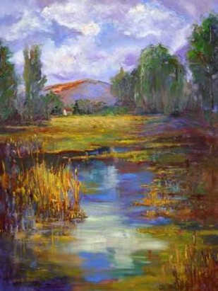 Still Waters Digital Print by Oleson, Nanette,Impressionism