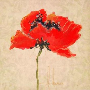 Vivid Red Poppies III Digital Print by Herrera, Leticia,Impressionism