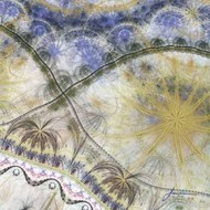 Bedouin Map I Digital Print by Burghardt, James,Abstract, Abstract