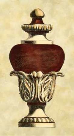 Antique Urn I Digital Print by Vision Studio,Realism