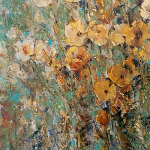 Amber Poppy Field I Digital Print by O'Toole, Tim,Impressionism