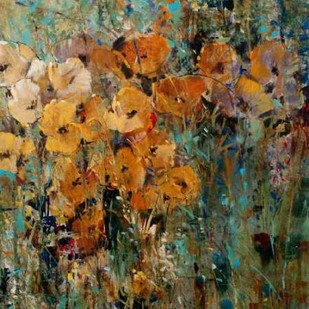 Amber Poppy Field II Digital Print by O'Toole, Tim,Impressionism