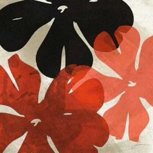 Bloomer Tiles IV Digital Print by Burghardt, James,Decorative