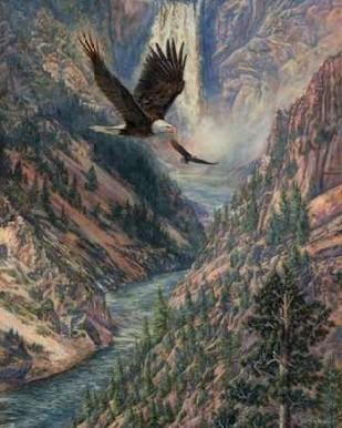 America the Best Digital Print by Mock, Carolyn,Impressionism